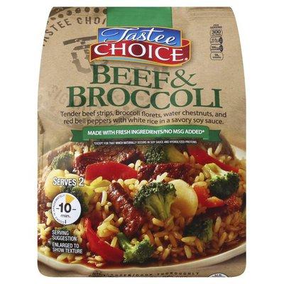 Tastee Choice Beef & Broccoli