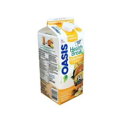 Oasis Pineapple, Banana & Orange Health Break Juice With Fibre