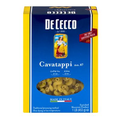 De Cecco Pasta Cavatappi No. 87