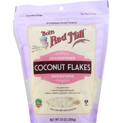 Bob's Red Mill Flaked Coconut, Unsweetened