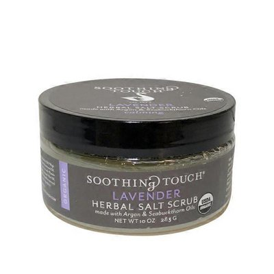 Soothing Touch Organic Lavender Salt Scrub