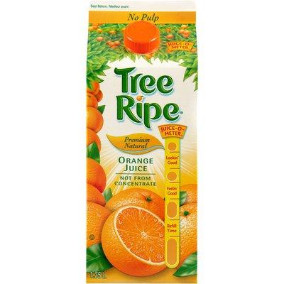 Tree Ripe Premium Natural No Pulp Orange Juice