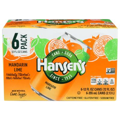 Hansen's Mandarin Lime Can