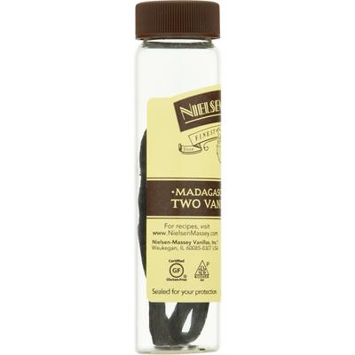 Nielsen-Massey Vanilla Beans, Two, Madagascar Bourbon
