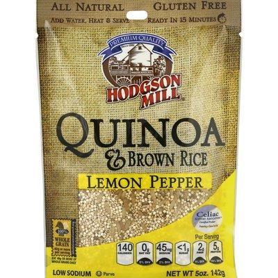 Hodgson Mill Quinoa & Brown Rice, Lemon Pepper