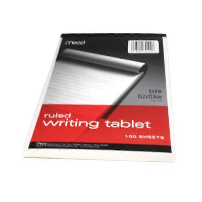 """Mead 6"""" x 9"""" Ruled Writing Tablet"""