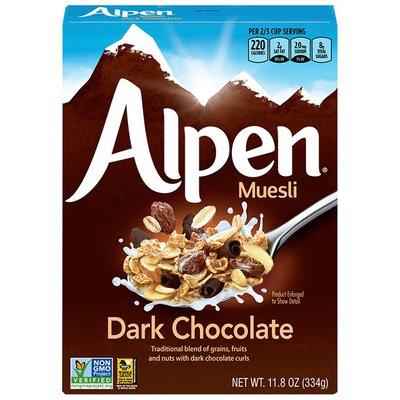 Alpen Dark Chocolate Swiss Style Muesli Cereal