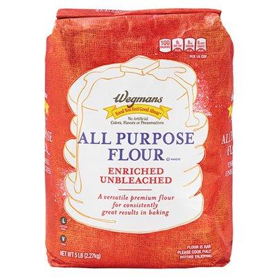 Wegmans Enriched Unbleached All Purpose Flour