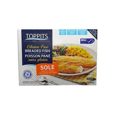 Toppits Gluten Free Savoury Lemon Sole Fillet