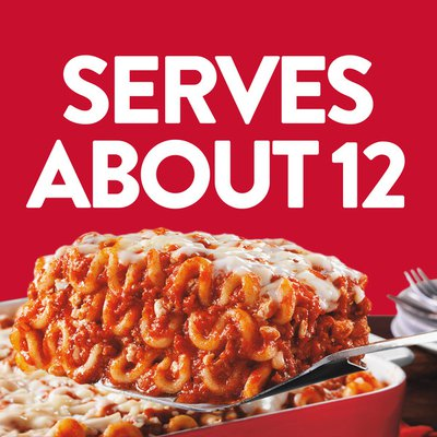 Stouffer's Party Size Lasagna with Meat & Sauce Frozen Meal