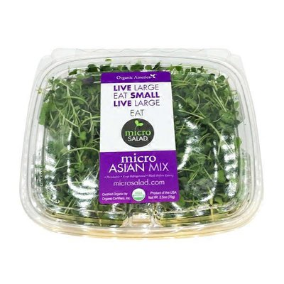 Organic America Organic Asian Mix Micro Greens