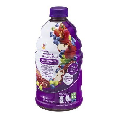 SB 100% Vegetable & Fruit Juice Blend Pomegranate Blueberry