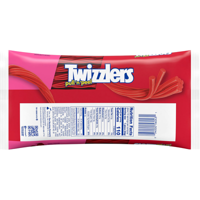 Twizzlers Candy, Cherry, Pull n Peel