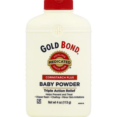 Gold Bond Baby Powder, Medicated, Cornstarch Plus
