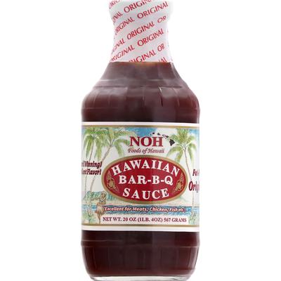 Noh Foods Bar-B-Q Sauce, Original, Hawaiian