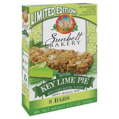 Sunbelt Bakery Granola Bars, Key Lime Pie, Chewy