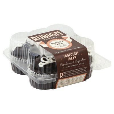 Rubicon Bakers Handcrafted Cupcakes, Chocolate Cream
