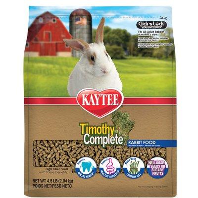 Kaytee Rabbit Premium Alfafa Free Timothy Fiber Diet