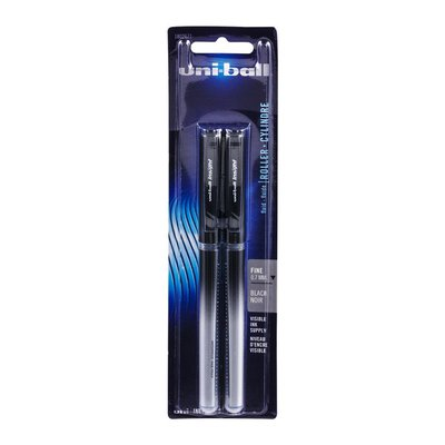 Uni-ball Insight Roller Cylindre Fine 0.7 MM Black - 2 CT