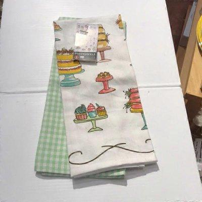 Now Design Just Desserts Printed Kitchen Towel