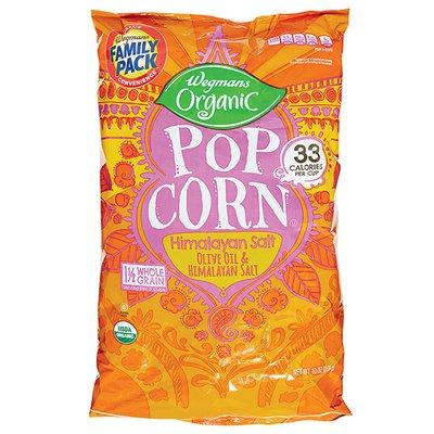 Wegmans Organic Popcorn, Himalayan Salt, FAMILY PACK