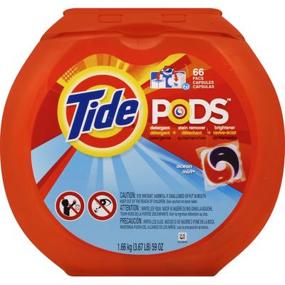 Tide Detergent + Stain Remover + Brightener, Ocean Mist