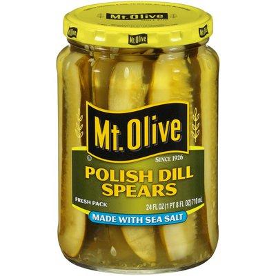 Mt. Olive Polish Dill Spears