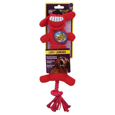 Multipet Dog Toy, Loofa Launcher