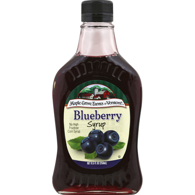 Maple Grove Farms of Vermont Blueberry Syrup