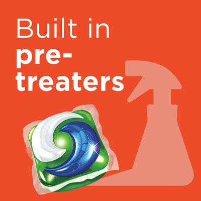 Tide Pods Ultra Oxi Liquid Laundry Detergent Pacs