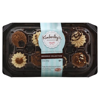 Kimberleys Brownie Collection, Peanut Butter & Chocolate