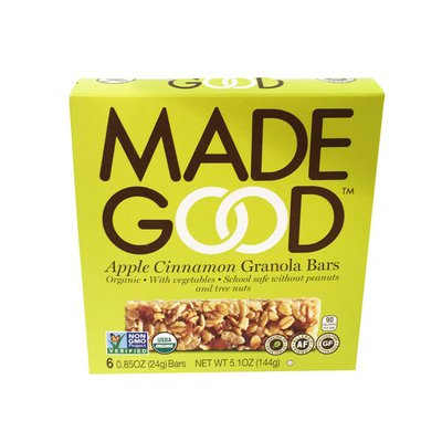 Made Good Granola Bars, Apple Cinnamon