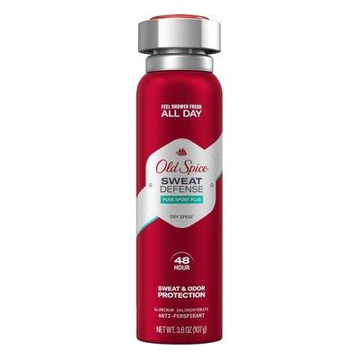 Old Spice Sweat Defense Pure Sport Plus Dry Spray Antiperspirant And Deodorant