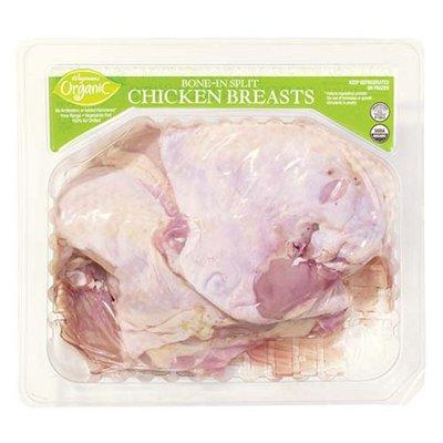 Wegmans Organic Bone-In Split Chicken Breasts