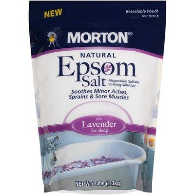 Morton Natural Lavender Epsom Salt