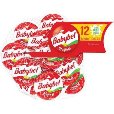 Babybel Original Semisoft Cheeses