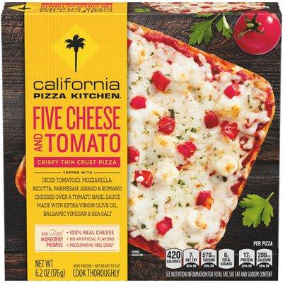 California Pizza Kitchen Five Cheese and Tomato Crispy Thin Crust Pizza