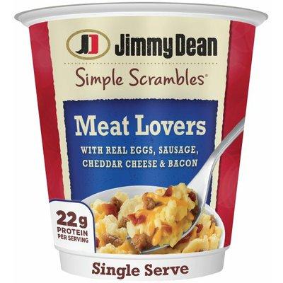 Jimmy Dean Meat Lovers Simple Scrambles