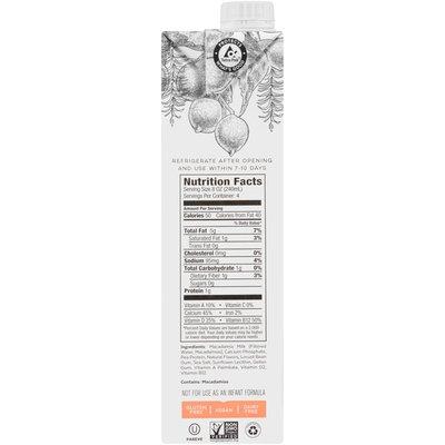 milkadamia Unsweetened Vanilla Macadamia Milk