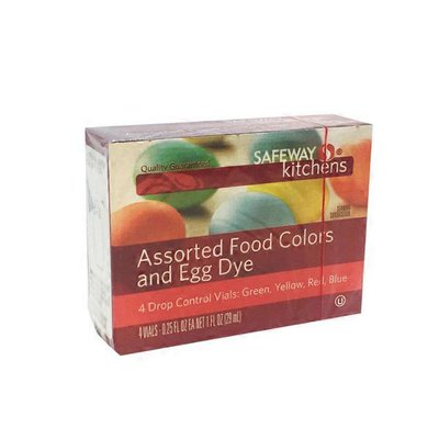 Signature Kitchens Assorted Food Coloring