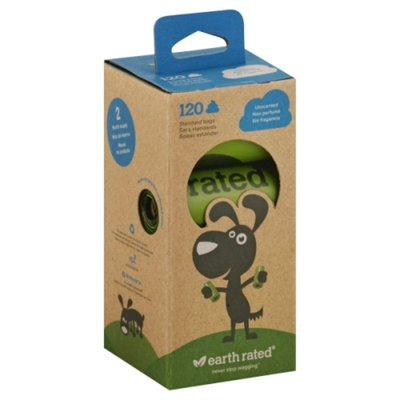 Earth Rated Unscented Refill Dog Waste Bags