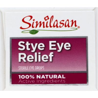 Similasan Stye Eye Relief, Eye Drops