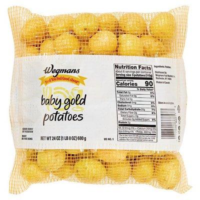 Wegmans Baby Gold Potatoes