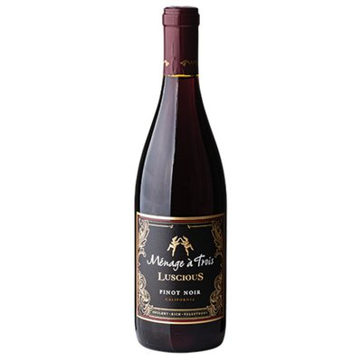 Menage a Trois Luscious Pinot Noir Red Wine