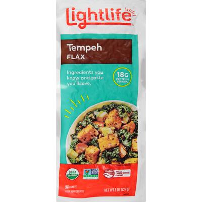 Lightlife Organic Flax Tempeh