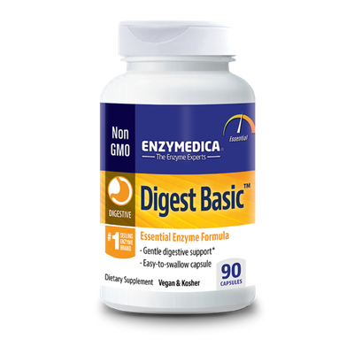 Enzymedica Dietary Supplement, Digest Basic, Capsules, Bottle