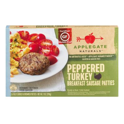 Applegate Natural Savory Turkey Breakfast Patty
