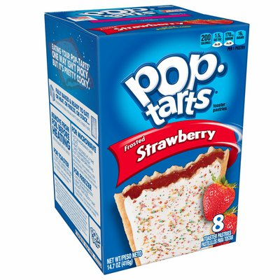 Kellogg's Pop-Tarts Breakfast Toaster Pastries, Frosted Strawberry