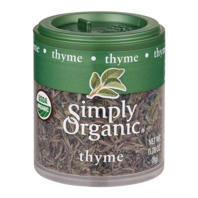 Simply Organic Thyme