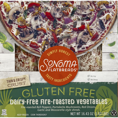 Sonoma Flatbreads Dairy-Free Fire-Roasted Vegetables